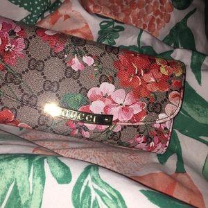Handbags - Floral & Gucci print wallet